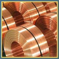 Лента бронзовая 0.05 мм БрБ2 ГОСТ 1789-70, ГОСТ 467-77