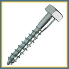 "Шуруп шестигранный ""Глухарь"" 10x180 мм DIN 571, 1 кг"