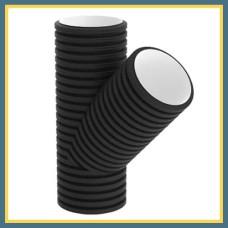 Тройник косой для гофрированных труб 200/45° OPTIMA